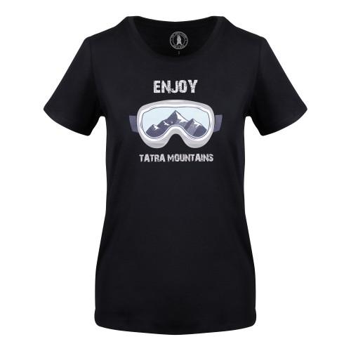 T-shirt Awesome Tatras Tee Woman Black