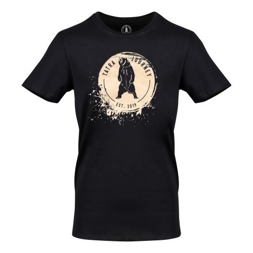 T-shirt Tatra Journey Tee Man Black