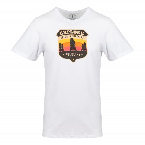T-shirt Awesome Tatras Tee Man White