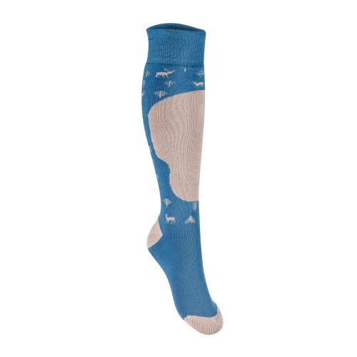 Skarpety Podhale Winter Socks Blue